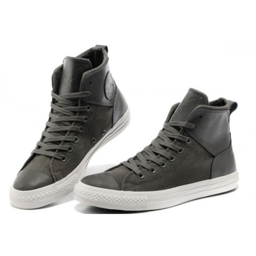 Converse France Chuck Taylor All Star Ville Grise Allume