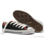 Converse Double Upper Tongue All Star Basse Noir Clathrate