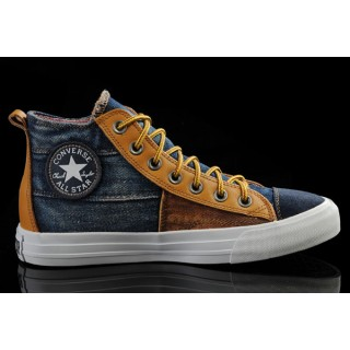 Converse France Iron Man De Couture Jaune Brun