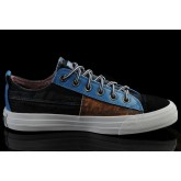 Converse France Iron Man Noir De Couture Bleu Brun