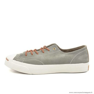 Converse Jack Purcell Basse Homme Cuir Grise