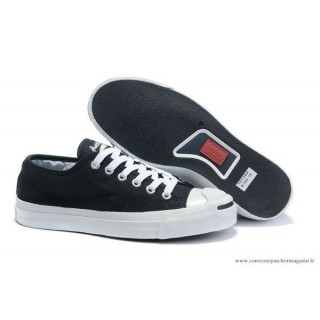 Converse Jack Purcell Classic Basse Toile Noir Blanche