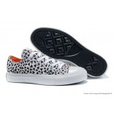Converse Marimekko All Star Basse Toile Noir Triangle Blanche
