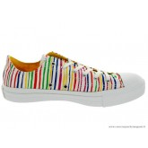 Converse Marimekko Chuck Taylor All Star Basse Toile Stripes Motley