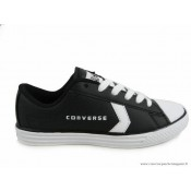 Converse Jean Negro Leather Star Blanco All Low Mujer FuJ3lK1cT5