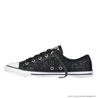 Femme Converse All Star Basse Sparkle Noir