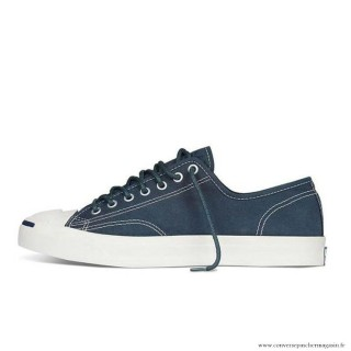 Homme Converse Jack Purcell Toile Bleu Blanche