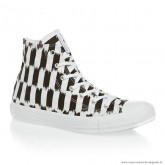 Homme Converse Marimekko Chuck Taylor All Star Haute Toile Stripes Blanche Marron