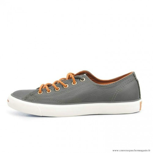 Jack Grise Basse Purcell Homme Chaussures Sombre Converse Cuir xeCBod
