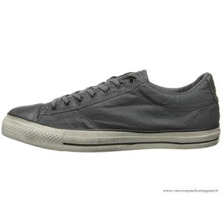 John Varvatos Homme Converse All Star Ox Basse Charcoal Grise
