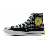 Le Converse Simpsons Chuck Taylor All Star Chaussures Noir