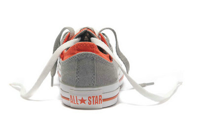 Acheter Converse Chuck Taylor All Star Plate-forme Gris Orange