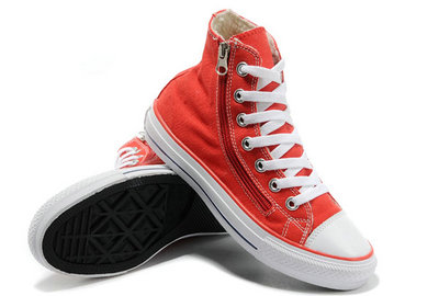 Acheter Converse Chuck Taylor All Star Rouge Sieste Douce Shearling Glissière