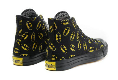 All Star Converse Batman Noir