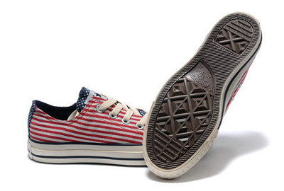 Converse Prix Chuck Taylor All Star Drapeau Rouge Usa -002