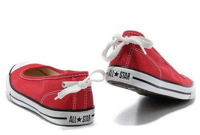 Converse All Star Pas Cher Rouge -002