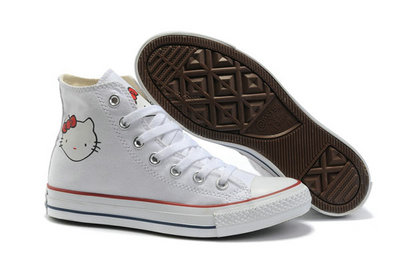 All Star Converse Bonjour Kitty Blanc