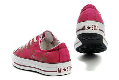 Converse All Star Pas Cher Rouge -001