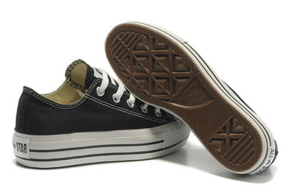Converse All Star Soldes Plate-forme Noir -002
