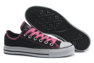Chaussures Converse Mers Roses Black Ox