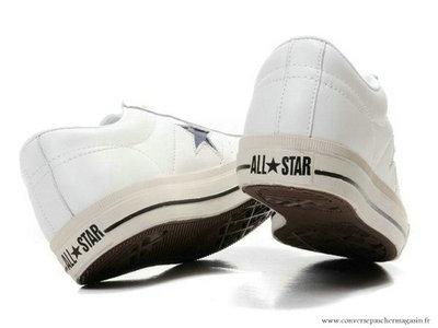 d17b83cd63389 Converse All Star Bleu Marine Star Basse Cuir Blanche Bleu Marine ...