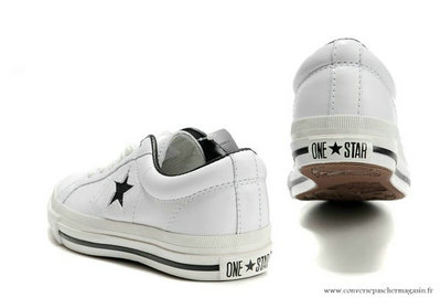 converse chaussure blanche